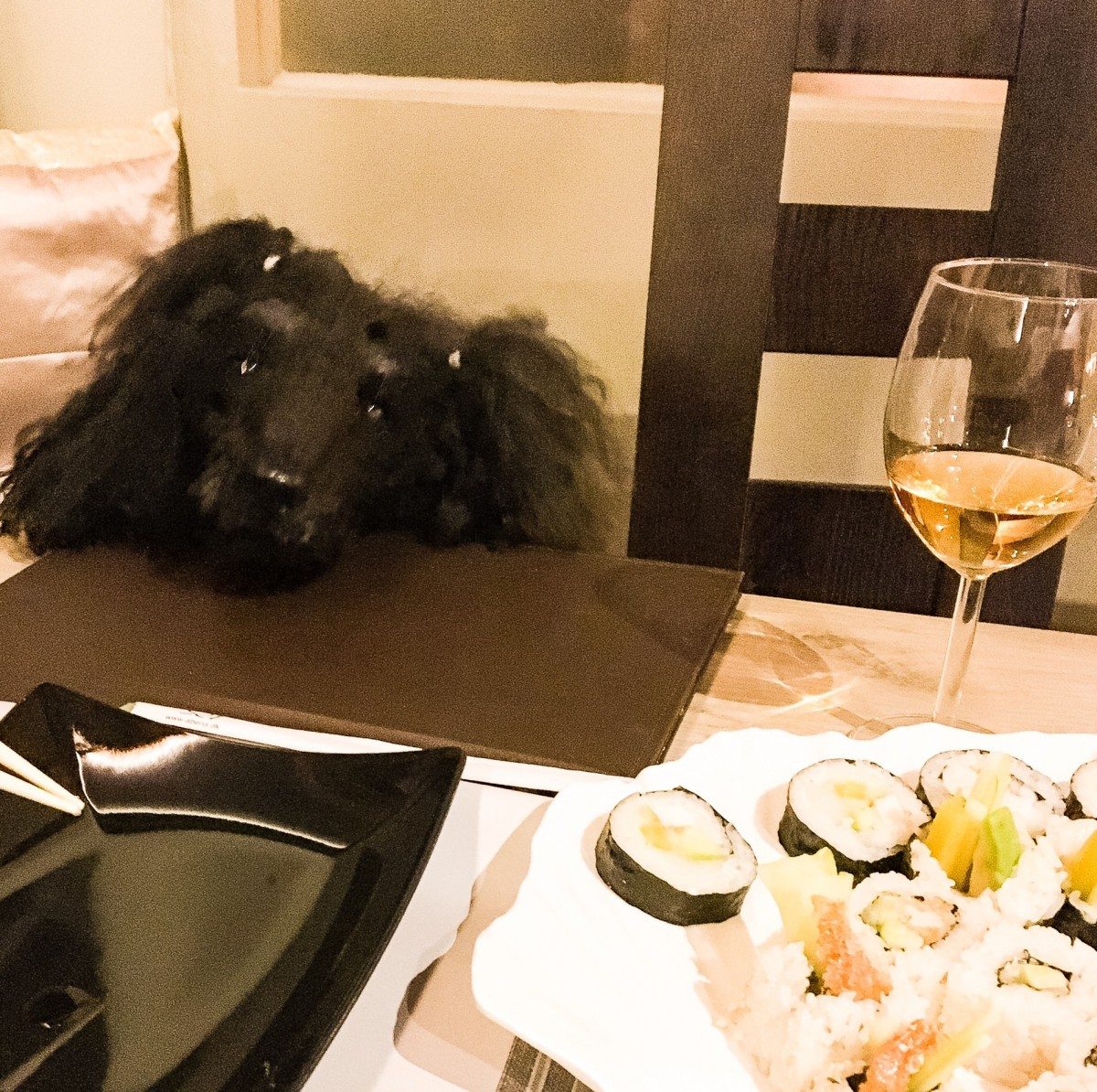 The law: dogs in restaurants.
