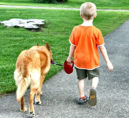 Dziecko to przyjaciel psa – nie opiekun!